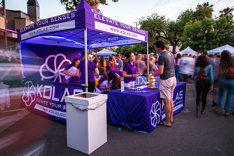 Seed Group blog - event marketing digital sacramento booth tent host sponsor cannabis marketing events festivals gatherings lead capture kolas powered by kolas second saturday